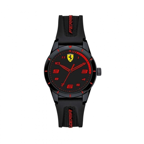 Đồng hồ Ferrari 0860006 trẻ em dây cao su 34mm