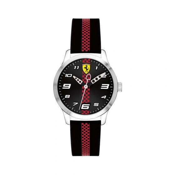 Đồng hồ Ferrari 0860002 trẻ em dây cao su 34mm