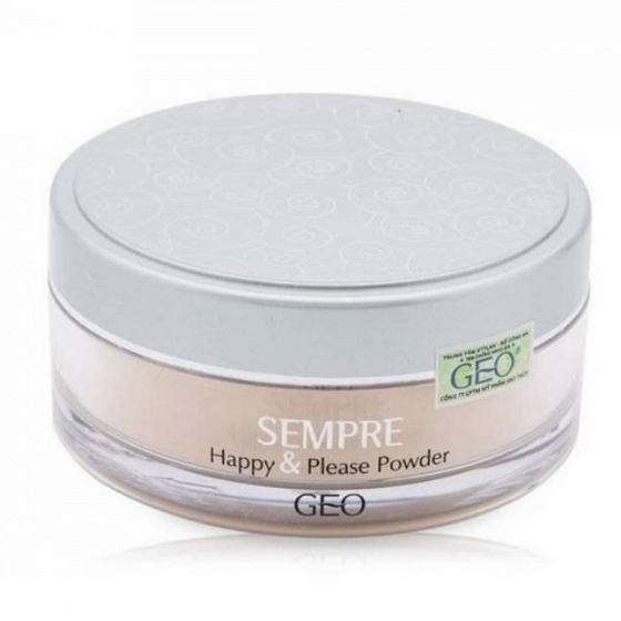 Phấn bột Sempre Happy and Please Powder No.2 Geo Py36