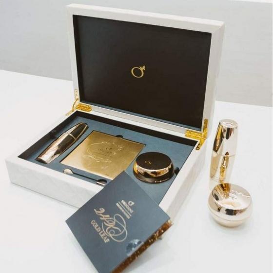 Bộ sản phẩm dưỡng da từ vàng 24K Origani - 24K Gold Collection