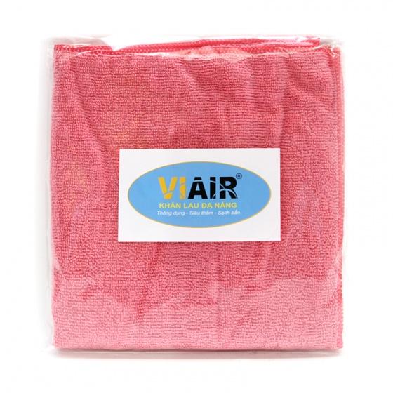 Khăn lau microfiber VIAIR T202SU-CL01 màu hồng
