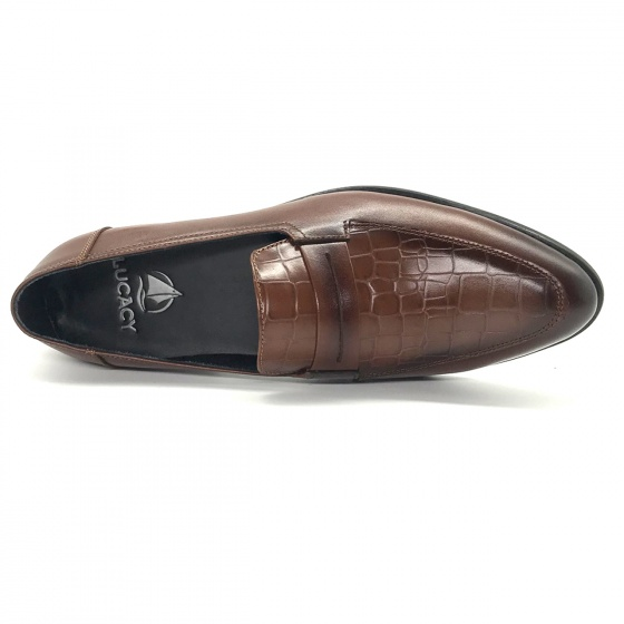 Giày tây nam da bò cao cấp Lucacy T0012N