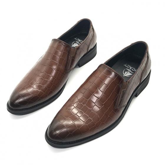 Giày tây công sở nam da bò cao cấp Lucacy T01N