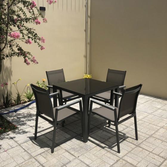 Bộ bàn ghế nhà hàng sang trọng BTL-LL