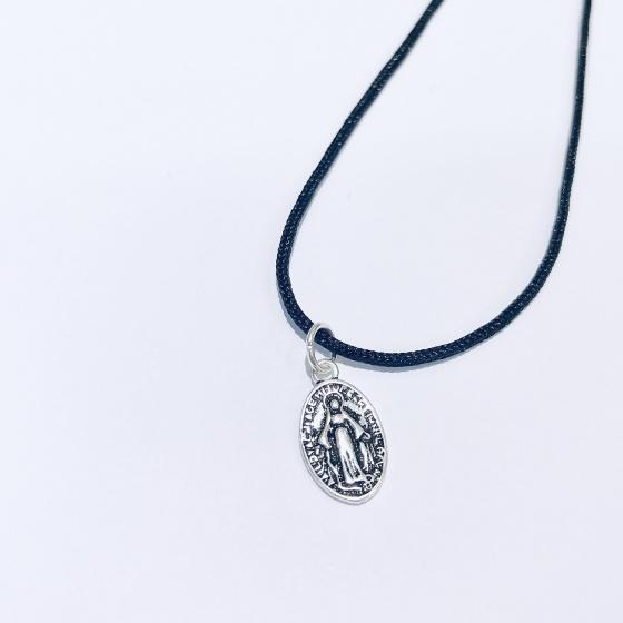 Dây chuyền mặt bạc hình thánh chúa - Ngọc Quý Gemstones