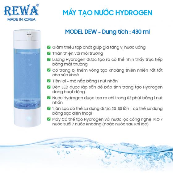 Bộ 2 vòng khoáng máy tạo nước Hydrogen Dew