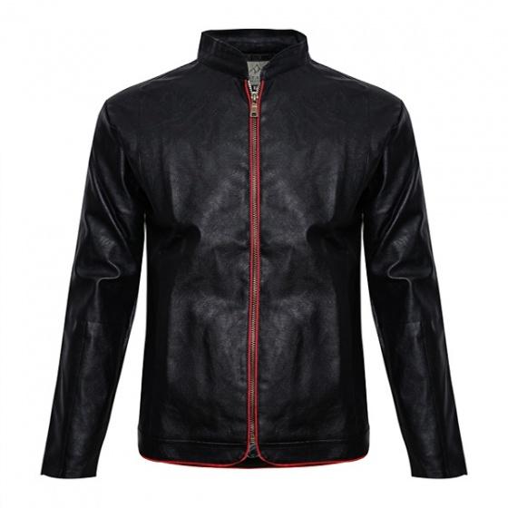 Áo khoác da nam lót lông Modelfashion phong cách Hàn Quốc AKD036