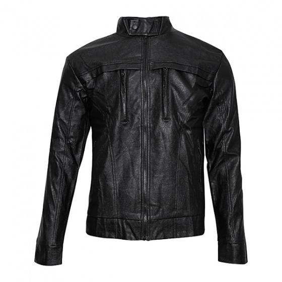 Áo khoác da nam lót lông Modelfashion phong cách Hàn Quốc AKD038