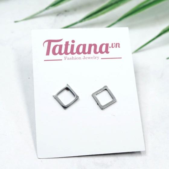 Bông tai Inox Square - Tatiana - BI3457