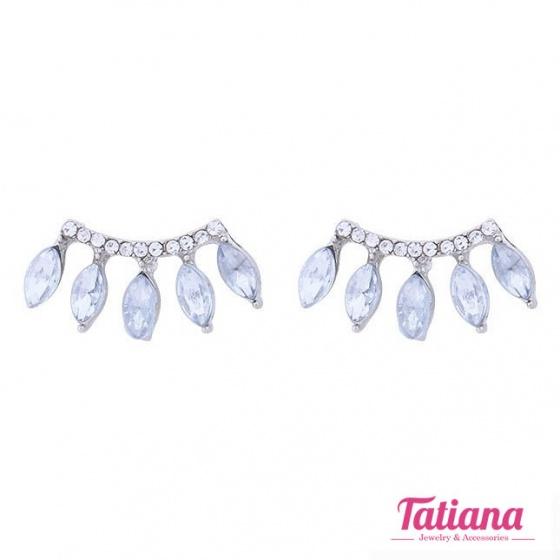 Bông tai hàn quốc vành đá - Tatiana - BH2125