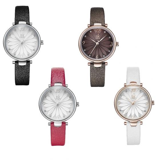 ( Siêu sale ) Đồng hồ nữ chính hãng Shengke Korea K8047L