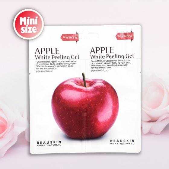 Tẩy da chết Beauskin Apple White Peeling Mini Size 6ml