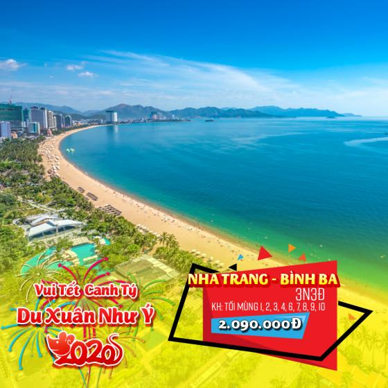 Tour Nha Trang - Bình Ba 3N3Đ Tết Nguyên Đán 2020