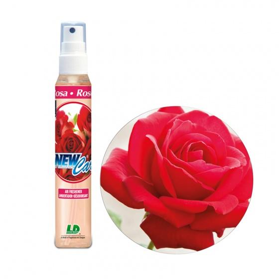 Nước hoa ô tô dạng xịt LD NEW CAR Rose