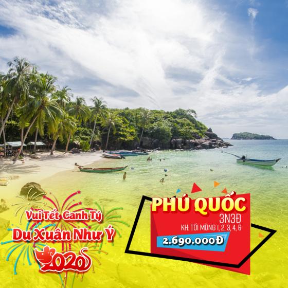 Tour Phú Quốc 3N3Đ Tết Nguyên Đán 2020