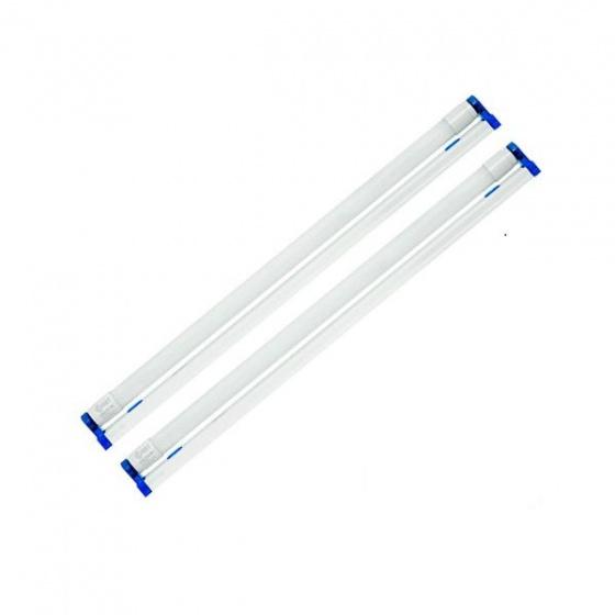 Bộ 02 đèn Batten nhựa Led T8 Rebel Comet, ánh sáng trắng dài 1m2 CFL02R118 - 18W