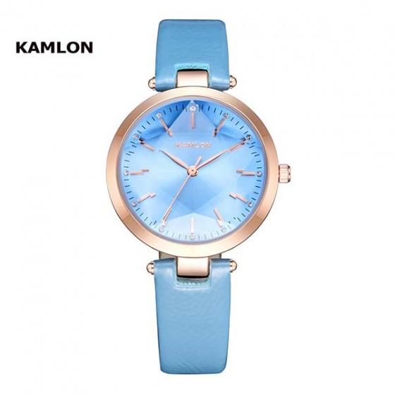 Đồng hồ đeo tay nữ Kamlon K3003 xanh dương