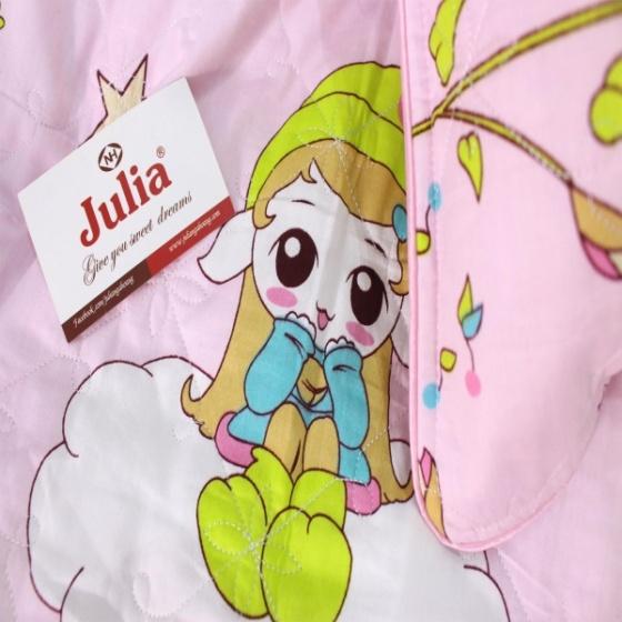 Bộ ga gối 4 món cotton Hàn Julia 101BK18