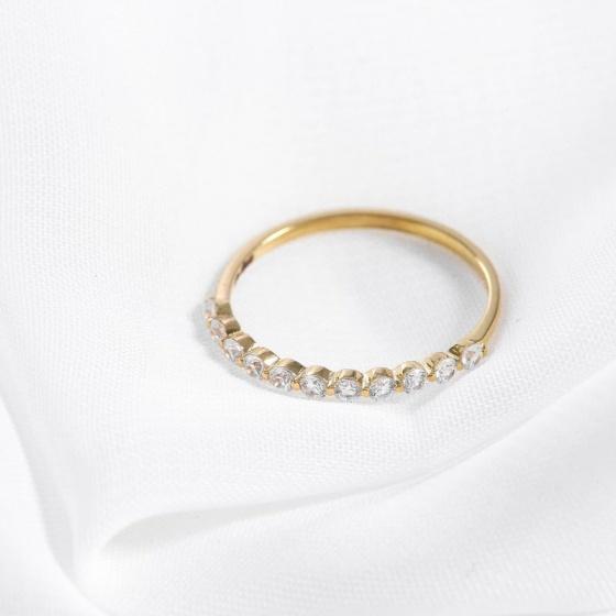 Nhẫn vàng DOJI cao cấp 14K 0819R-LAL302