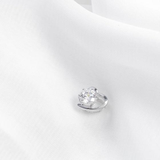 Mặt dây chuyền vàng trắng đính đá DOJI 14K 0819P-LAL446.