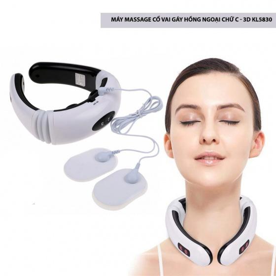 Máy massage cổ vai gáy hồng ngoại chữ C - KL5830