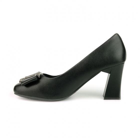 Giày cao gót êm chân Sunday CG45 đen