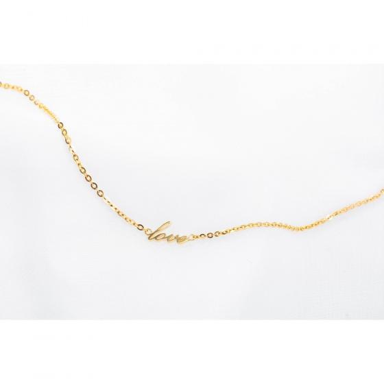 Lắc tay vàng 14K đính đá DOJI 0819B-LAL116