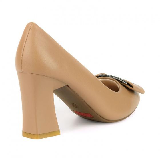 Giày cao gót êm chân Sunday CG45 nâu