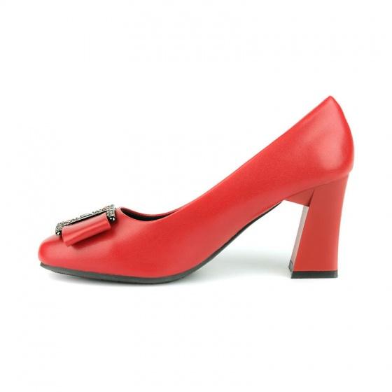 Giày cao gót êm chân Sunday CG45 đỏ