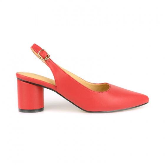 Giày cao gót êm chân Sunday CG48 màu đỏ