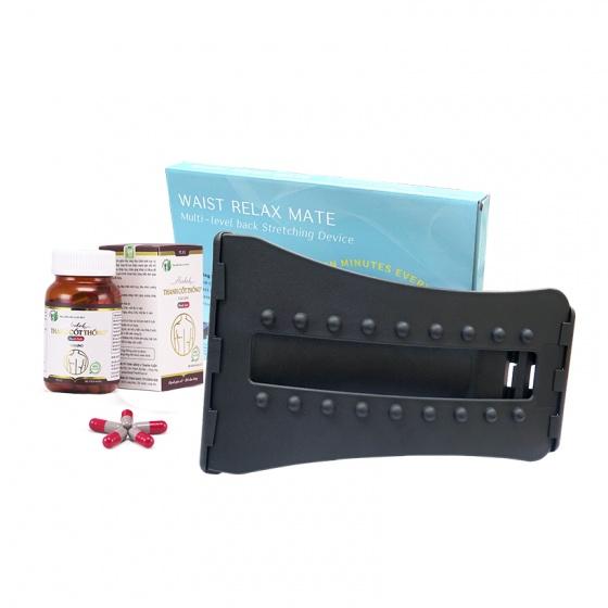 Combo Thanh Cốt Thống và khung nắn chỉnh cột sống Julaikang hỗ trợ điều trị đau lưng