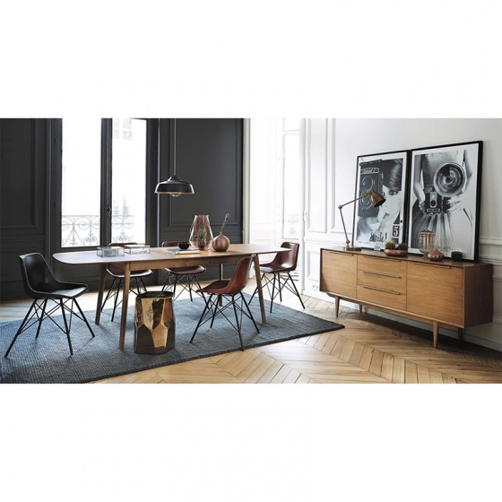 Tủ trữ đồ lớn Portobello phong cách Vintage gỗ tự nhiên