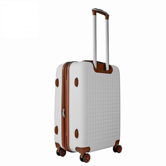 Vali du lịch Trip P803A Size 60cm 24 inch màu trắng (tặng gối cổ)