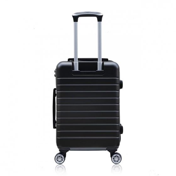 Set 2 vali chống trộm Trip PC911 size 50cm+60cm đen (tặng 2 gối cổ màu ngẫu nhiên)