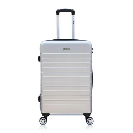 Vali chống trộm Trip PC911 size 60cm xám bạc (tặng 1 gối cổ màu ngẫu nhiên)