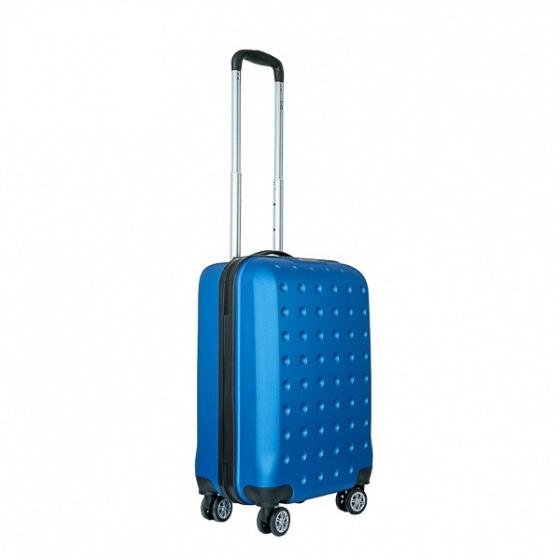 Vali nhựa kéo, du lịch Trip P13 size 50cm xanh dương (TẶNG THẺ TREO VALI)