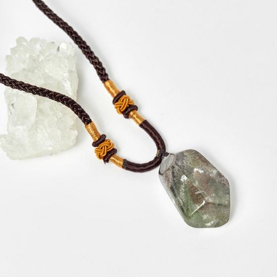Mặt dây chuyền thạch anh ưu linh 20.2x34.1mm - Ngọc Quý Gemstones