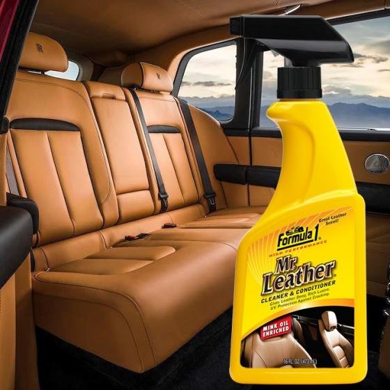 Chất tẩy sạch bảo dưỡng bề mặt da dạng xịt Formula 1 615163 473ml (hàng Mỹ)