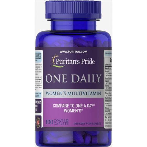 Vitamin tổng hợp cho phụ nữ Women One daily Vitamin 100 viên của Puritan's Pride