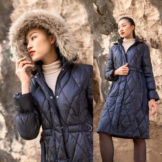 Áo jacket 3 lớp đen HeraDG - WJK19005