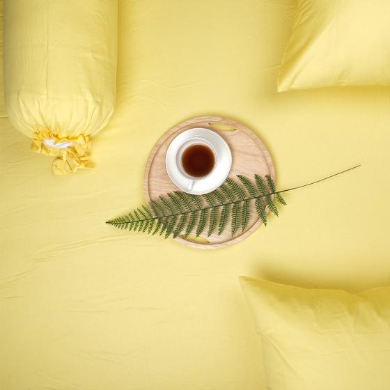 Bộ ga gối 4 món cotton satin Hàn Quốc 1m6x2m