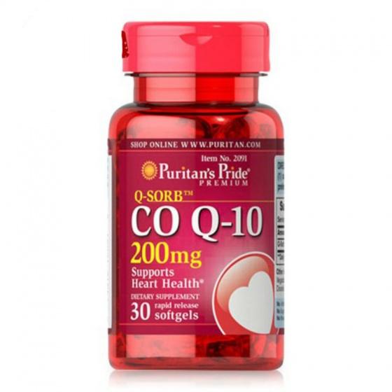 Viên uống hỗ trợ tim mạch Q-Sorb Co Q-10 200mg 30 viên