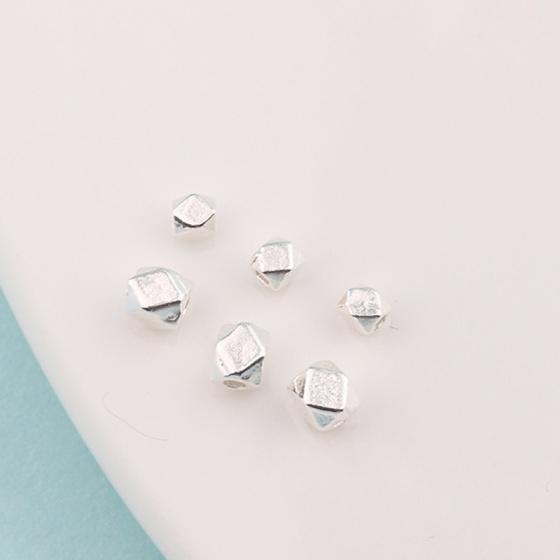 Combo 2 bạc bi vuông mài giác - Ngọc Qúy Gemstones
