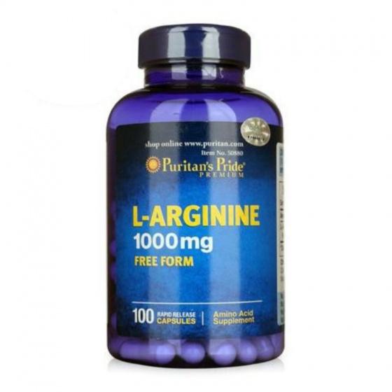 Tăng cường sinh lý, bổ gan L-Arginnine 100 viên
