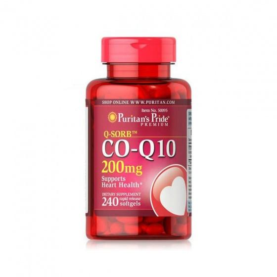 Viên uống hỗ trợ tim mạch Q-Sorb Co Q-10 240 viên
