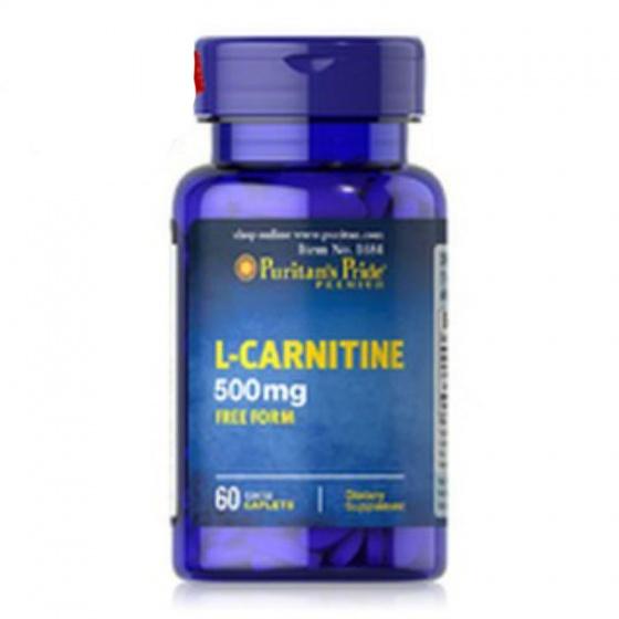 Đốt cháy mỡ giảm cân l-carnitin 500mg 60v