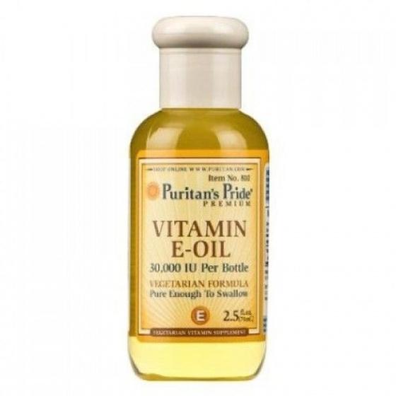 Vitamin E nước chống lão hóa làm đẹp da - Puritan's Pride - Vitamin E oil 30000IU 2.5oz