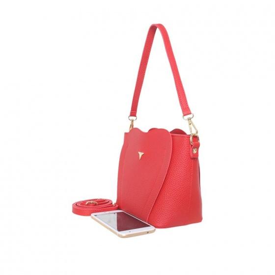 Túi thời trang Verchini màu đỏ tươi 13001722