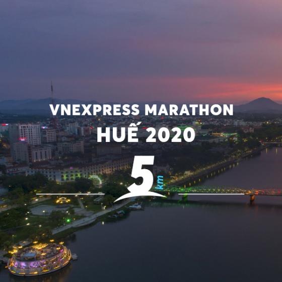 Vé Vnexpress Marathon Huế 2020 - cự ly 5KM