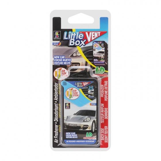 Hộp thơm ghim máy lạnh LD LITTLE BOX New Car 5ml